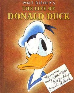 Donald Duck - Copyright by Walt Disney Productions ®